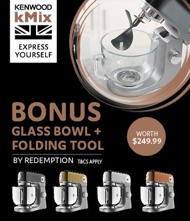 Bonus attachments promotion kenwood kitchen machines